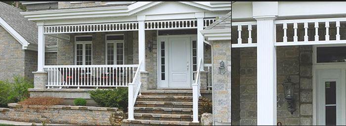rampe et escalier aluminium