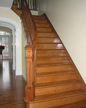 Rampe et escalier int rieur verticales portes et for Expertise porte et fenetre